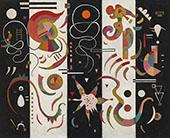 Striped 1934 By Wassily Kandinsky