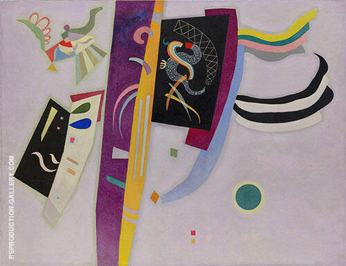 Violet Orange By Wassily Kandinsky