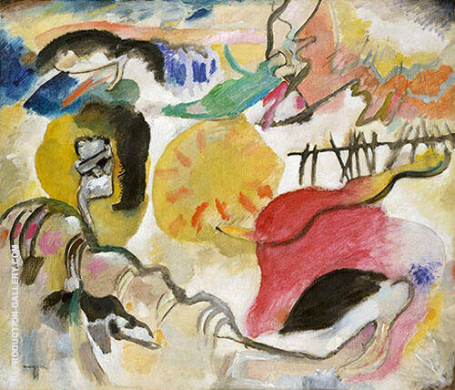 Improvisation 27 Garden of Love II 1912 Painting By Wassily Kandinsky