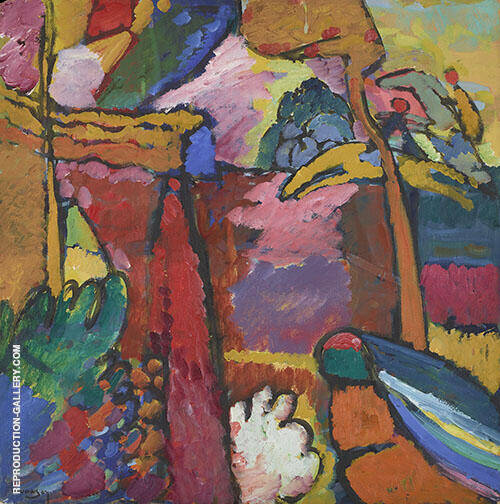 Study for Improvisation V 1910 Painting By Wassily Kandinsky