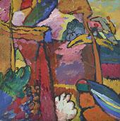 Study for Improvisation V 1910 By Wassily Kandinsky