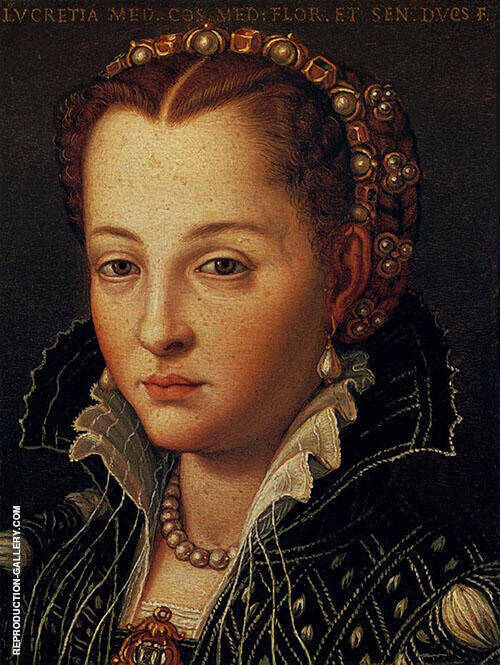 Portrait 1503 By Agnolo Bronzino