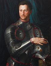 Portrait Cosimo I de Medici in Armour 1545 By Agnolo Bronzino