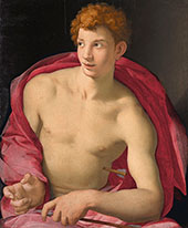 Saint Sebastian 1533 By Agnolo Bronzino