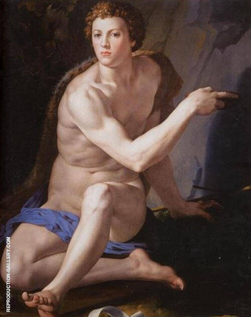 St John The Baptist 1553 By Agnolo Bronzino