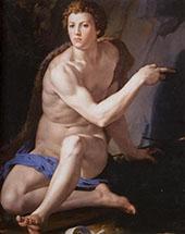 St John The Baptist 1553 By Agnolo Bronzino
