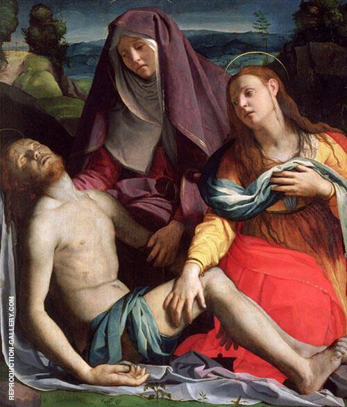 Pieta 1530 By Agnolo Bronzino