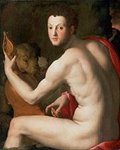 Portrait of Cosimo I de Medici as Orpheus 1537 By Agnolo Bronzino
