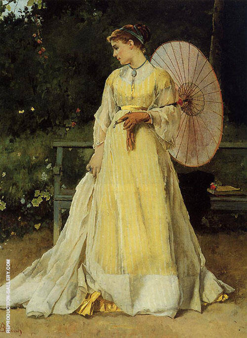 In The Country 1867 By Alfred Stevens