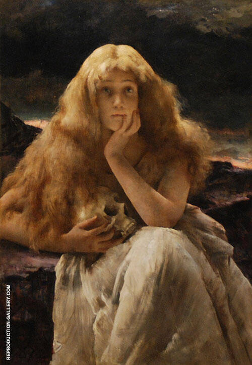 Maria Magdalena 1887 By Alfred Stevens