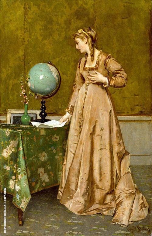 News from Afae 1860 By Alfred Stevens