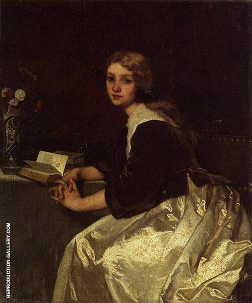 Reverie 1854 By Alfred Stevens