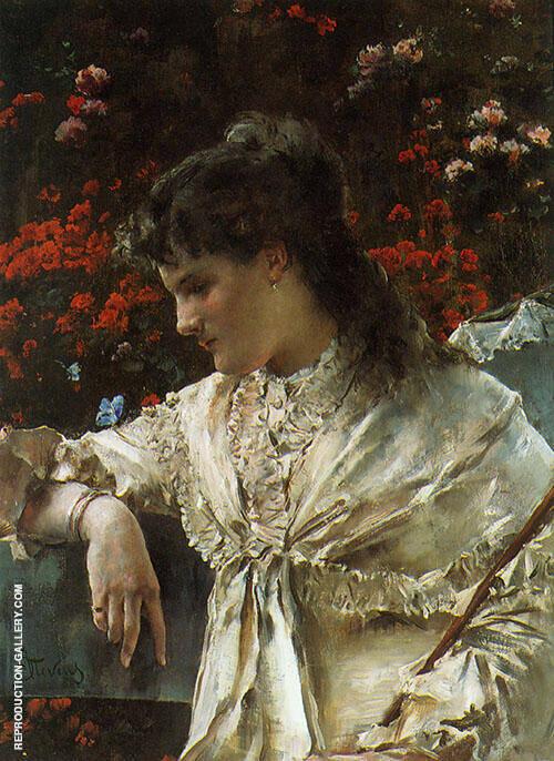 Reverie 1878 By Alfred Stevens