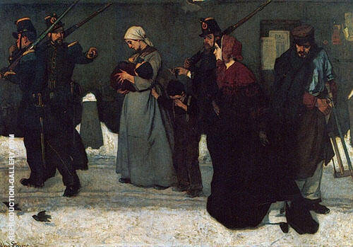 What is Called Vagrancy or The Hunters of Vincennes 1854 By Alfred Stevens