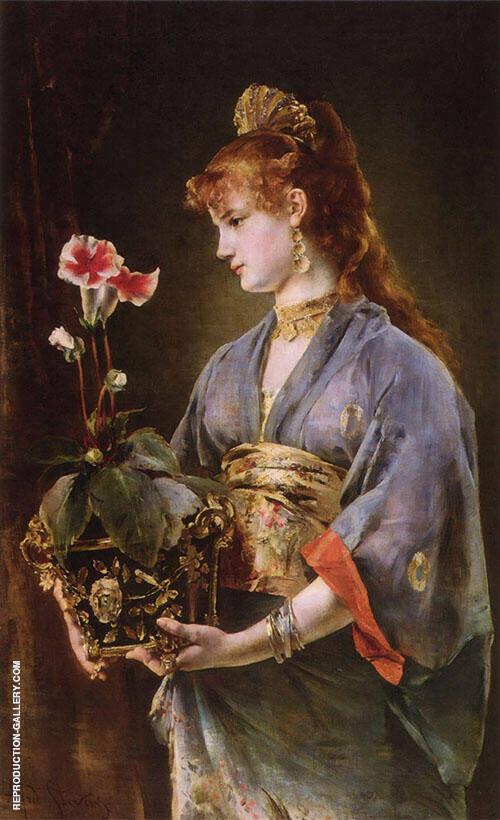 Yamatori 1878 By Alfred Stevens