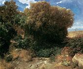 Campagna Landscape By Arnold Brocklin