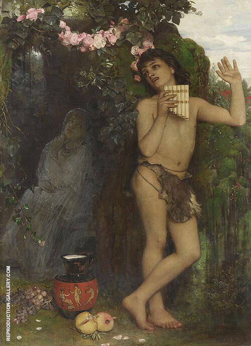 Die Klage des Hirten 1866 By Arnold Brocklin