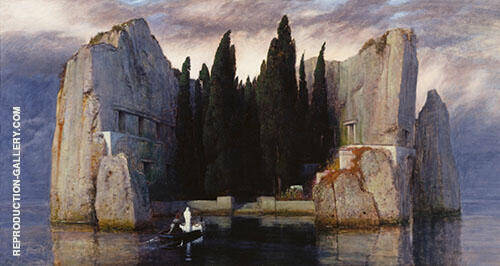 Isle of The Dead Die Toteninsel 1920 By Arnold Brocklin