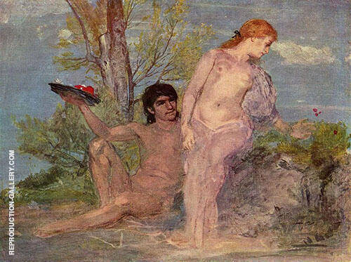 Lovers By Arnold Brocklin