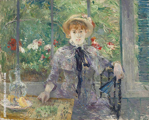 Apres le Dejeuner 1881 Painting By Berthe Morisot - Reproduction Gallery