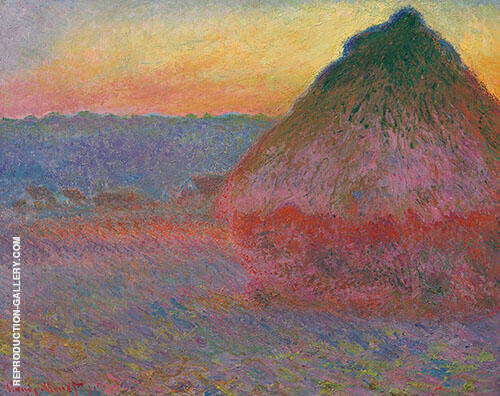 Grainstack (Meule) 1891 By Claude Monet