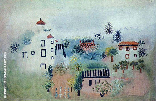 Landscape 1928 Painting By Pablo Picasso - Reproduction Gallery