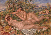 The Bathers (Les Baigneuses) 1919 By Pierre Auguste Renoir