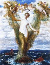 Venus Anadyomene 1872 By Arnold Brocklin