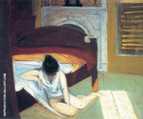 Summer Interior By Edward Hopper