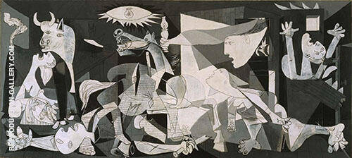Guernica 1937 Painting By Pablo Picasso - Reproduction Gallery
