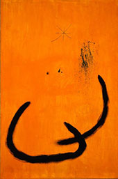 Drop of Water on the Rose Colored Snow By Joan Miro