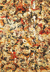 Untitled White By Jackson Pollock (Inspired By)
