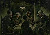 The Potato Eaters 1885 By Vincent van Gogh