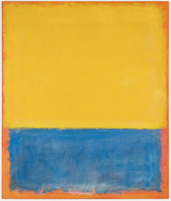 Yellow, Blue, Orange 1955 Painting By Mark Rothko - Reproduction Gallery