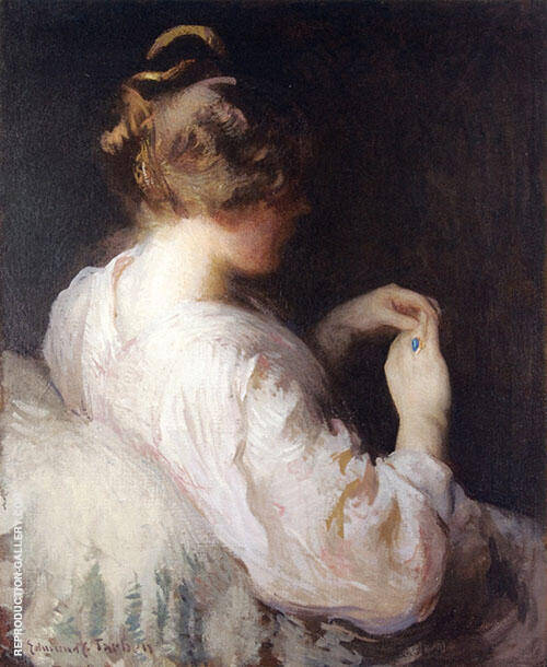 The Turquoise Ring (Opal Ring) By Edmund C Tarbell