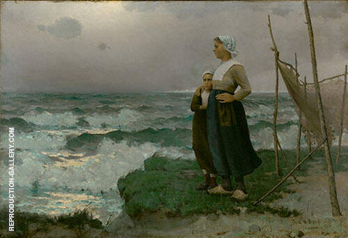 After the Storm, 1884 By Frank Weston Benson