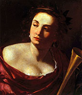 Allegory of Fame 1630 By Artemisia Gentileschi