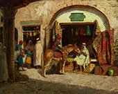 In The Market By Addison Thomas Millar