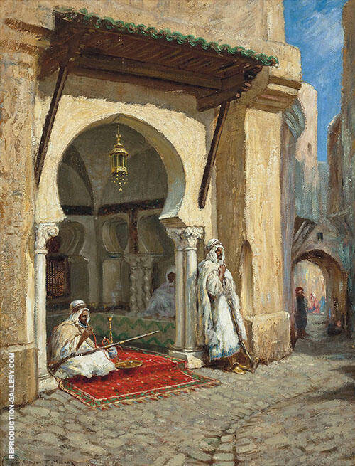 In The Medina By Addison Thomas Millar