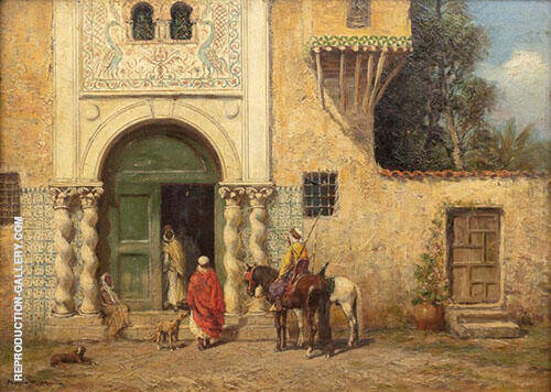 Le Messager du Sultan Painting By Addison Thomas Millar