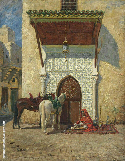 The Pashas Door 1907 By Addison Thomas Millar