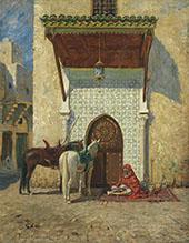 The Pashas Door 1907 By Addison Thomas Millar