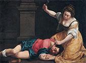 Jael and Sisera 1620 By Artemisia Gentileschi