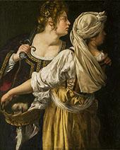 Judith and her Maidservant 1613 By Artemisia Gentileschi