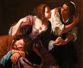 Samson and Delilah By Artemisia Gentileschi