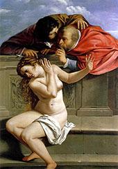 Susanna and The Elders 1610 By Artemisia Gentileschi