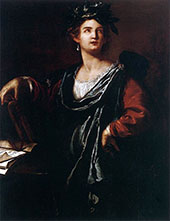 Clio 1632 By Artemisia Gentileschi