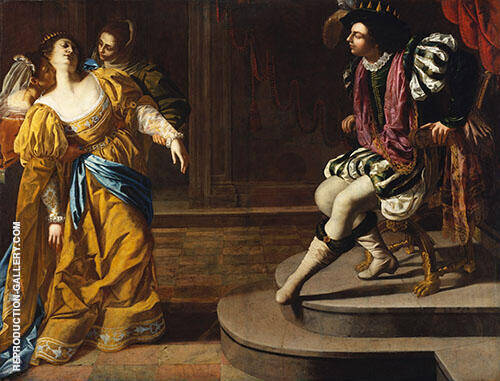 Esther Before Ahasuerus 1628 Painting By Artemisia Gentileschi
