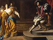 Esther Before Ahasuerus 1628 By Artemisia Gentileschi