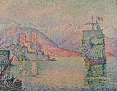 Antibes le Soir 1914 By Paul Signac